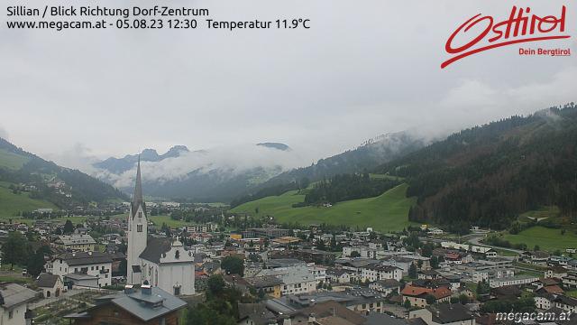 Wetter und Livebild Sillian, Livecam und Webcam Sillian - 1103 Meter Seehöhe